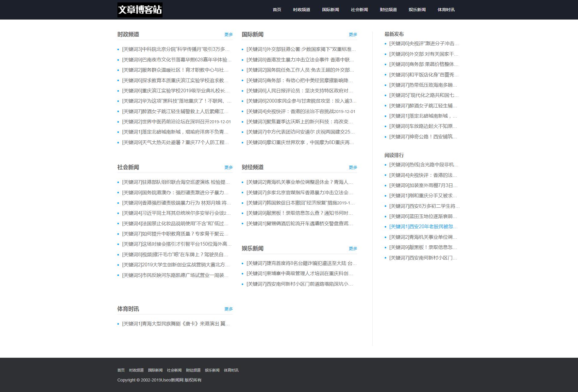 TZ提权程序混合版附带14条采集规则。单站泛目录皆可使用 站群源码 第2张